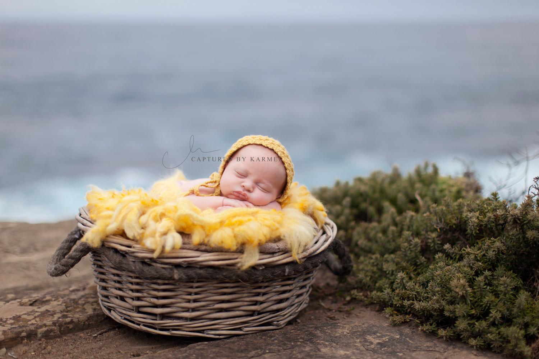 newborn baby photography terrigal the skillion