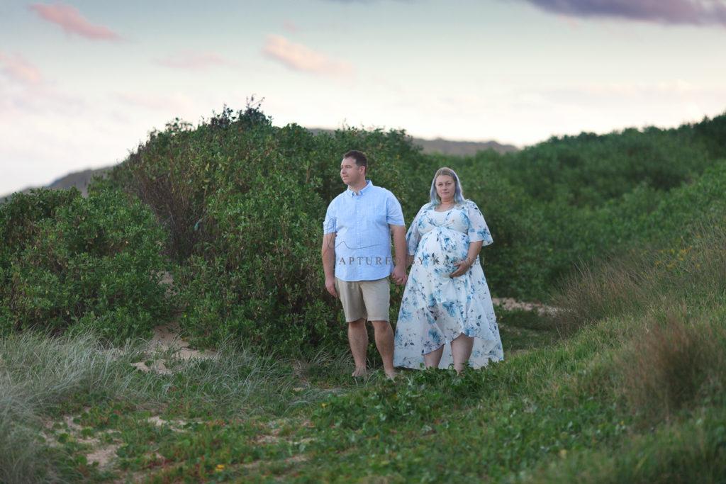 beach maternity photography central coast terrigal