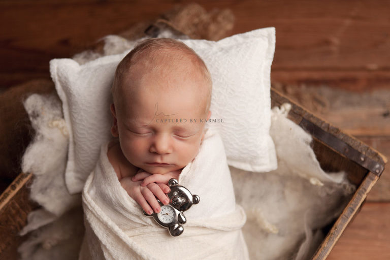 central coast newborn photography baby