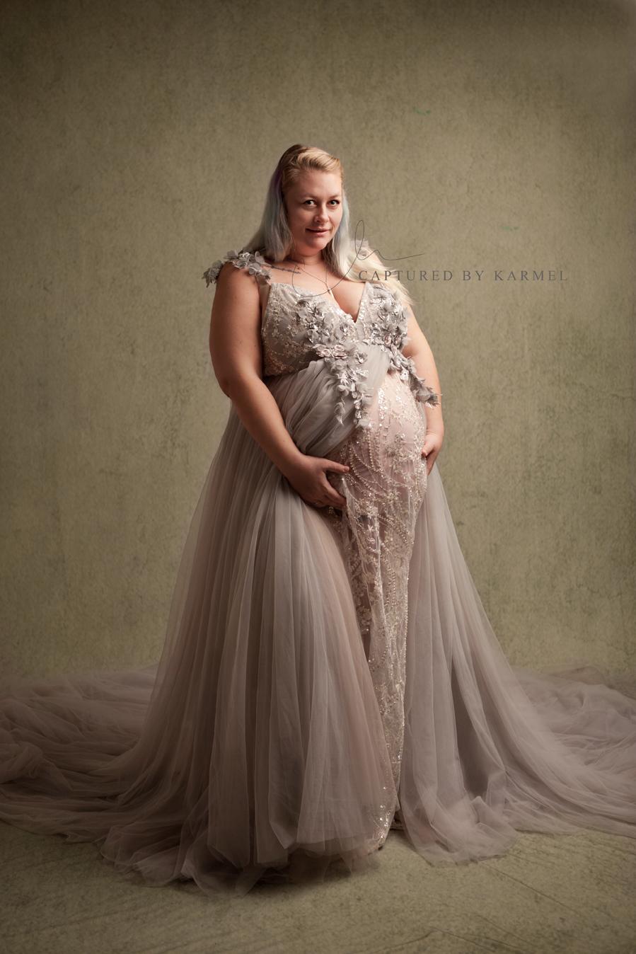 maternity studio photography
